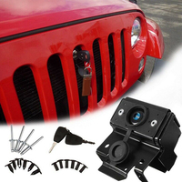 Protective Latch Durable Fixed Car Parts Hood Lock Anti Theft With Key Front Engine Vehicle Styling Accessaries For Wrangler Jk