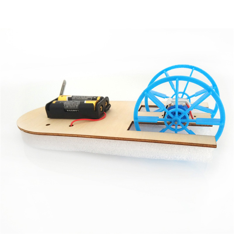 Electric boat science education toy DIY Electronic Assembly Boat Model Toy Scientific Experiment Toy For Kids Gifts #4J09 (5)