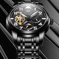 Мужские часы AILANG Новые повседневные модные автоматические машины наручные часы для мужчин лучший бренд класса люкс Tourbillon часы Relogio Masculino
