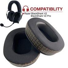 iNeedKit Upgraded Cooling Gel Earpads Compatible with Razer BlackShark V2, V2 Pro Gaming Headset, Headphones Repair Earpads