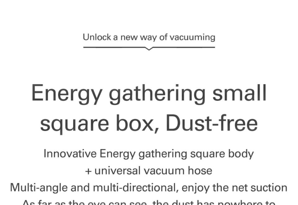 WORX Unlock a new way of Vacuuming