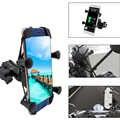 Soporte Universal para teléfono móvil de motocicleta con interruptor de cargador rápido USB para Honda CB919 CB190R CB650R CB125R CB400SF CB1100