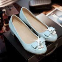 Marlisasa Talon Femme Women Classic High Quality Plus Size 34 to 43 High Heels Ladies White Pu Leather Shoes Party Pumps F5462