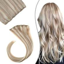 [12 Colors] Ugeat Micro Bead Weft Hair Extensions 10 inch Width 14-24