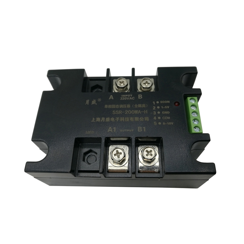 Single-phase Fully Isolated AC Solid State Voltage Regulator SSR-200WA-H, 220V380V Optional 20A 40A 60A 80A 100A 120A 150A 200A