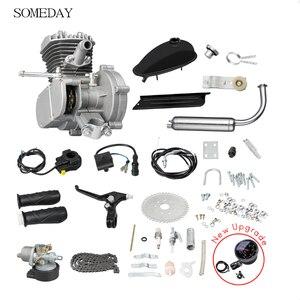 Комплект бензинового двигателя для велосипеда 80cc 2, комплект бензинового двигателя для горного велосипеда