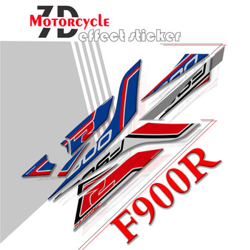 New sale Motorcycle 3D Gel rear fairing sticker Rear Seat Unit Gel edge Paint Protector stickers For BMW F900R 2020 f900 r