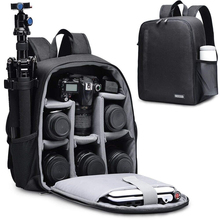 CADeN Camera Backpack Multi Functional Digital DSLR Camera Bag Waterproof  Bag Outdoor Camera Photo Case for Nikon Canon Sony