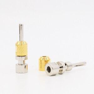 Image 2 - 4ps Cardas CAB single Banana plug ,Rhodium plate 4mm cable terminate hole