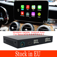 Auto Radio Wireless Carplay Upgrade Box Android Auto Aktivierung Decoder für Mercdes NTG5 EINE B E C G CLA GLA CLS GLE GLS SLK Klasse