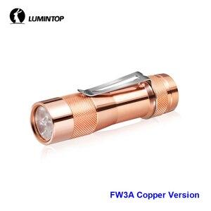 Image 2 - LuminTop FW3A 3 PCS Cree XPL HI Led อิเล็กทรอนิกส์สวิตช์หางยุทธวิธี Strobe แสงเทียน LED ไฟฉายแนะนำ 18650 แบตเตอรี่