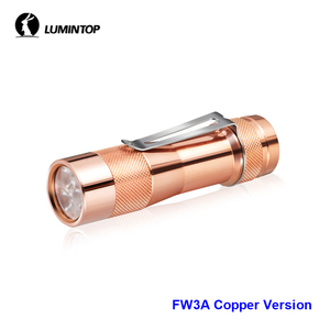 Image 2 - LuminTop FW3A 3PCS Cree XPL HI LEDs Electronic Tail Switch Tactical Strobe Candlelight LED Torch Light Recommended 18650 Battery
