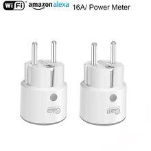 NEO Coolcam Smart Plug WiFi Timer Interruttore Presa 3680W 16A di Energia di Potenza di Monitoraggio UE Presa di Controllo Vocale da Alexa google IFTTT