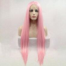 DOROSY парики на сетке женские розовые искусственные волосы для наращивания накладные волосы для наращивания для женщин розовый парик с челкой традиционная