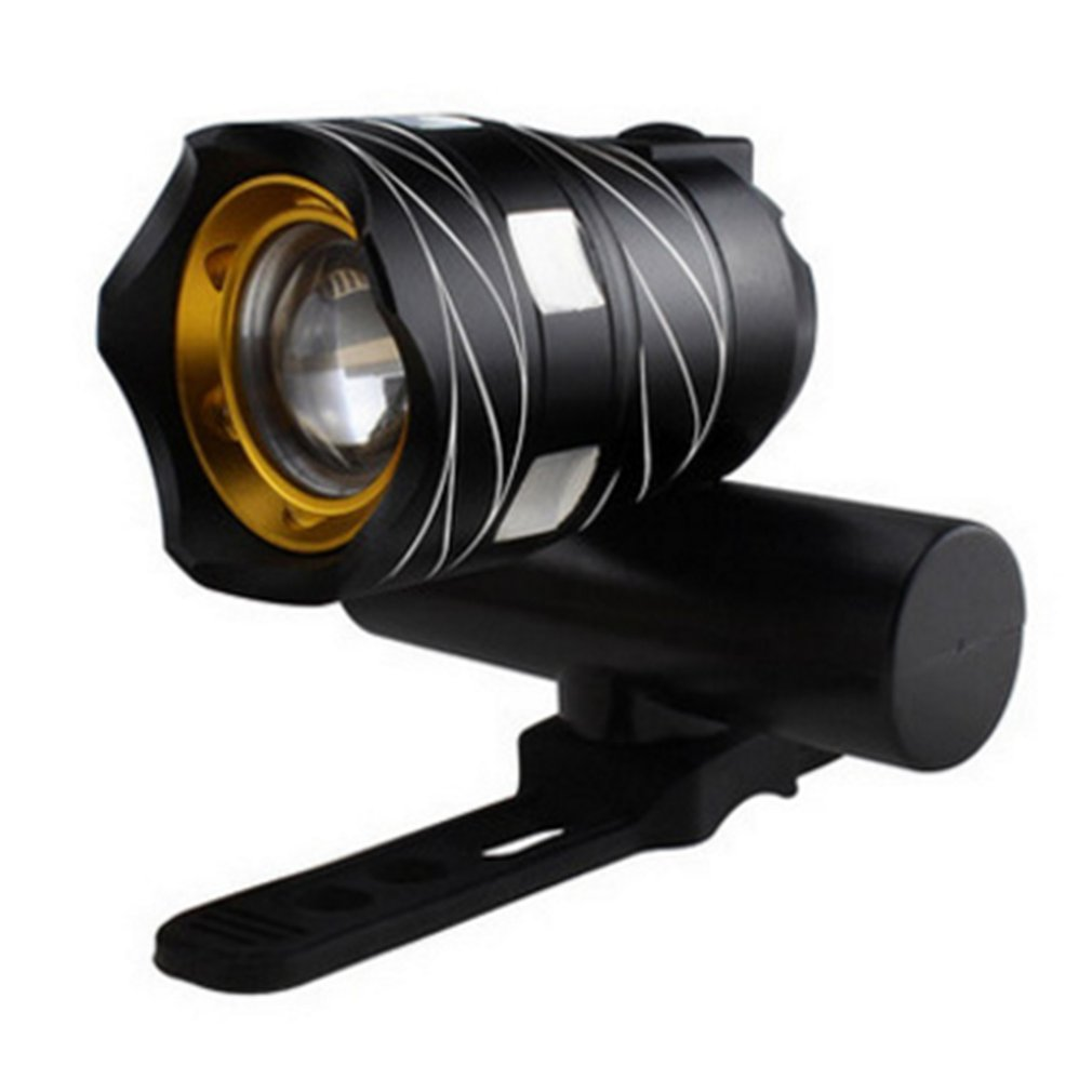 T6 LED Bicycle Light Bike Front Lamp Outdoor Torch Flashlight Headlight Taillight USB Rechargeable Built-in Battery 2019
