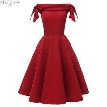 Коктейльные платья, красное короткое вечернее платье, элегантное ТРАПЕЦИЕВИДНОЕ ПЛАТЬЕ с открытыми плечами без рукавов