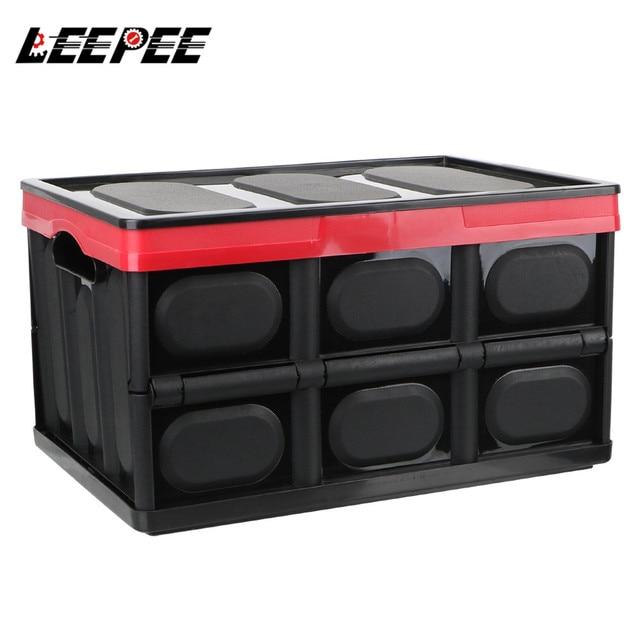 صندوق تخزين السيارة ، صندوق تخزين البضائع ، قابل للطي ، ملحقات داخلية متعددة الوظائف ، تصميم السيارة