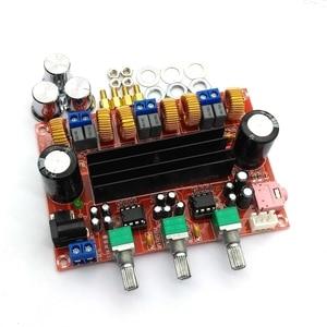 Image 2 - Placa amplificadora Digital para Subwoofer, TPA3116D2 50Wx2 + 100W, 2,1 canales, 12V 24V, Powe