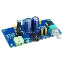 цена на 47 Earphone Amplifier 2 Channel Headphone Amplifier 47 Amplifier Dc Double Power Version(Finished Product)