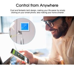 Image 5 - WiFi חכם תרמוסטט טמפרטורת בקר LCD תצוגת שבוע לתכנות עבור מים/גז הדוד Ewelink עבור Alexa Google בית