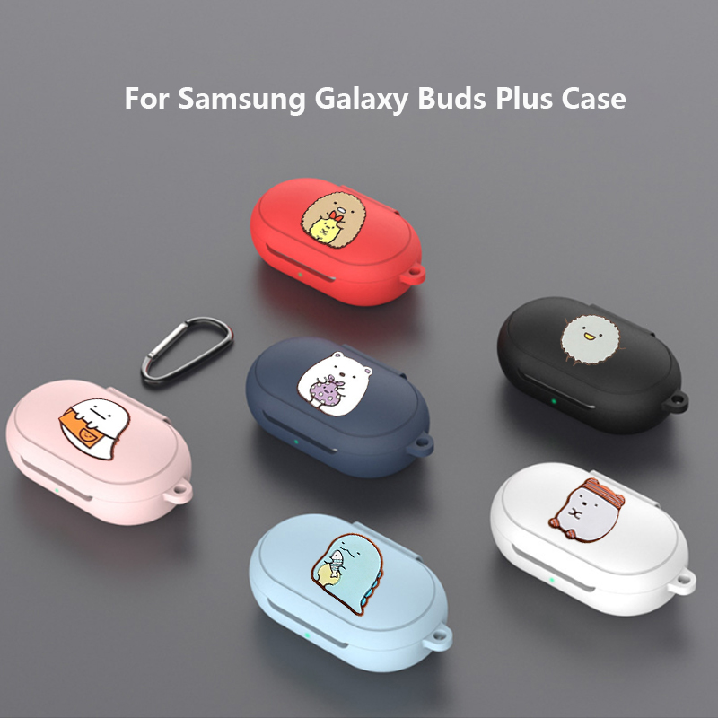 Cute Cartoon Style Case For Samsung Buds & Buds+ Wireless Earphone Full Case Cover TPU Silicone Protective Funda