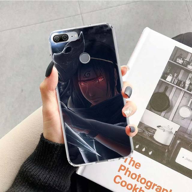 Anime Naruto Haruno Sakura Case For Huawei Honor 10 9 20 Lite 9X 8X 8A Pro 7A 7X Y5 Y6 Y7 Y9 2019 V20 V30 Soft Phone Cover Coque