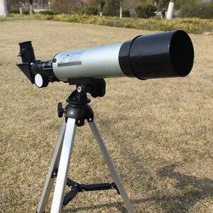 Image 2 - Telescopio astronómico para exteriores Zoom HD de alta calidad, Monocular, con trípode portátil, mira telescópica de 360/50mm