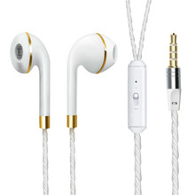 цена на Q1 Wired Earphone For iPhone 6s 6 5 Xiaomi Hands free Headset Bass Earbuds Stereo Headphone For Iphone Samsung earpiece
