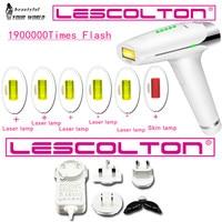 2019 Laser Depilator IPL Epilator Permanent Hair Removal machine 1900000 Flashes Body Leg Bikini Trimmer Photoepilator For Women