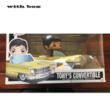 Pop scarface tonyconvertible s conversível 03 com caixa figura de ação modelo brinquedos para chlidren