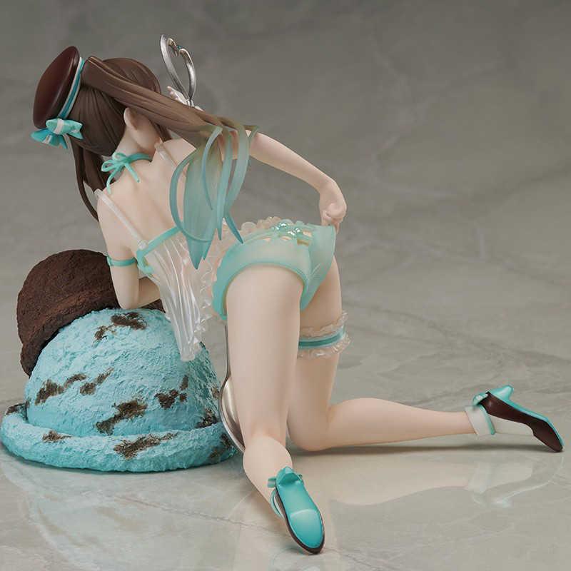 Reliure Native dégustation fille Choco menthe et Ichigo lait Figure d'anime fille Sexy reliure PVC figurine jouets Collection modèle