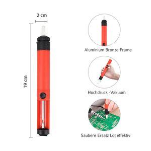Image 5 - NEWACALOX الاتحاد الأوروبي/الولايات المتحدة 60 واط منظم الحرارة سبيكة لحام عدة مفك ديسولديرينغ مضخة القصدير سلك كماشة أدوات لحام حقيبة التخزين