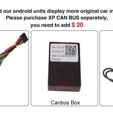 Xp canbus box para tomostrong android sistema