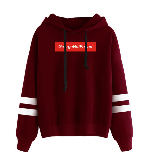 GEORGE NOTFOUND THEMED STRIPED HOODIE (5 VARIAN)