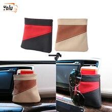 YOLU  Car Air Vent Phone Holder Storage Bag Organizer Outlet Hanging Key Pocket Pouch
