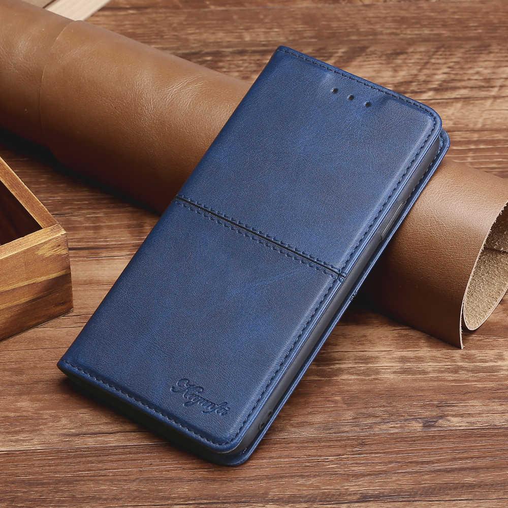 Mewah Leather Case untuk Samsung Galaxy J3 J5 J7 PRO 2017 J6 J8 2018 Dompet Flip Penutup untuk Samsung J530 j710 J730 Funda Magnet