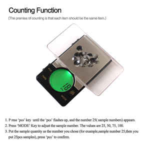 Image 5 - Precision Digital Pocket Weight Jewelry Scale with Large LCD Backlight,500G by 0.01G,Gram Scale