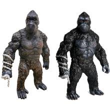 12 polegada/31cm rei kongfigure os macacos gorila figuras de ação gigante orangotango collectible resina modelo brinquedos para crianças