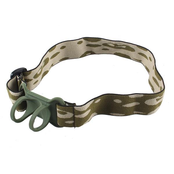 Jiguoor 22-30mm Nylon Adjustable LED Flashlight Torch Lanterna Headband Headlamp Portable Lighting Accessories Gifts