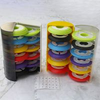 Multi Layers Storage Compartment Silicone Reel Fishing Line Box Case Rotatable Winder Coils Fishing Accessories Random Color|Fishing Tools|   -