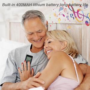"""Image 3 - JINSERTA Portatile FM/AM Radio Mini Ricevitore Radio con 1.57 """"Display LCD FM76 108MHZ, 9 KHZ/10 KHZ Ricevitore con Auricolare Stereo"""