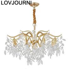 De Techo European Nordic Hanglampen Pendant Suspension Hanging Lamp Crystal Light Luminaire Suspendu Deco Maison Hanglamp
