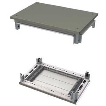 DKC kit, roof and base, for CQE cabinets, 800x800mm r5ktb88