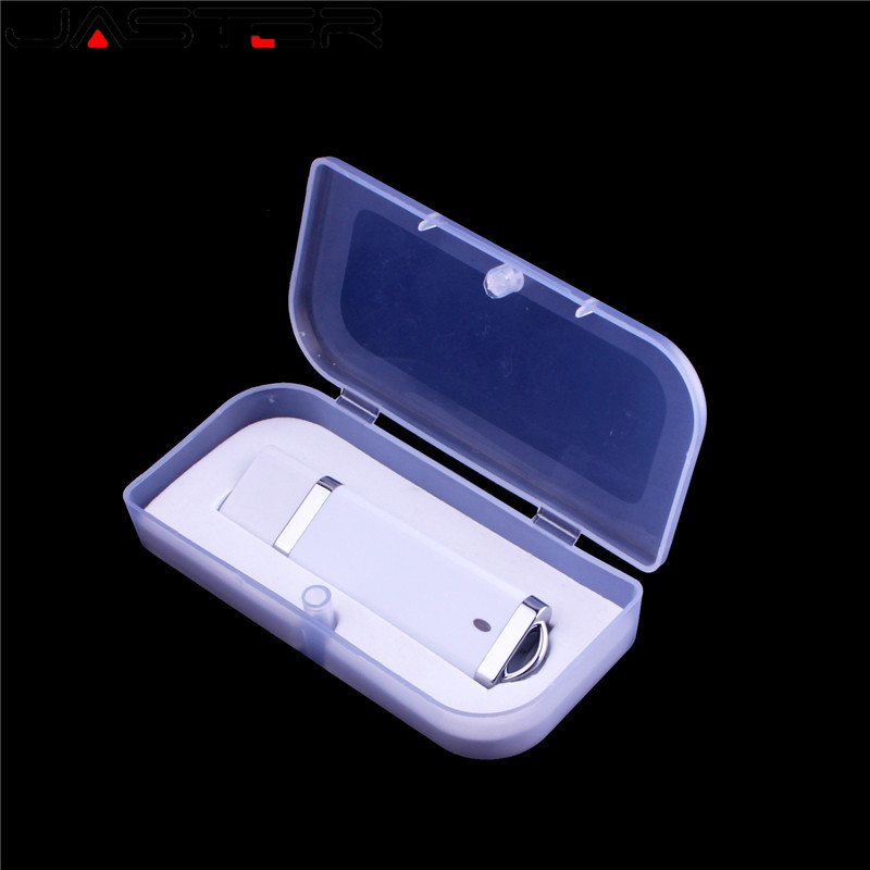 JASTER Fashion Lighter Shape Usb + Gift Box Pen Drive 8GB USB Flash Drive Pendrive 4gb 16gb 32gb 64GB Memory Stick Free Shipping