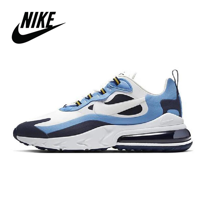 Original <font><b>Nike</b></font> <font><b>Air</b></font> <font><b>Max</b></font> <font><b>270</b></font> React Men Running Shoes Breathable Sports Sneakers Anti-slip Outdoor <font><b>Nike</b></font> <font><b>Air</b></font> <font><b>Max</b></font> <font><b>270</b></font> React <font><b>Mujer</b></font> image