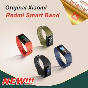 Image 2 - Xiaomi Redmi Band Smart Armband Fitness Herz Rate Sport Monitor Bluetooth 5,0 USB Lade Armband 2020 redmi smart band