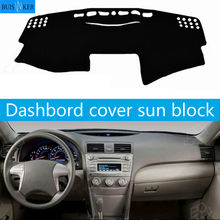 for Toyota Camry 2007 2008 2009 2010 2011 Car Dashboard Cover Mat Pad Dash Dashmat Sun Shade Instrument Carpet Accessories(China)