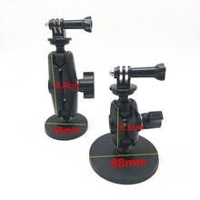 Magnetische magnet auto motorrad saugnapf halterung 1 zoll kugelgelenk für sony garmin gopro action kamera camcoders osmo smartphone