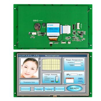 STONE 10.1 Inch HMI TFT LCD Touch Screen with RS232/RS485/TTL for Equipment Use 4 3 inch hmi tft lcd display with serial interface rs232 rs485 ttl for equipment use