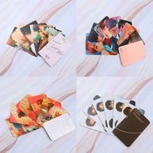 Kpop álbum cartão de foto bangtan meninos coleção fotocartão auto feito cartões de papel lomo cartões auto fã presente
